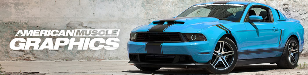 1999 2004 Mustang Decals Stripes Graphics Americanmuscle ...