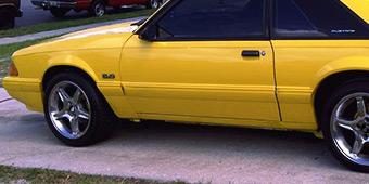 1979 1993 Fox Body 4 Lug Mustang Wheels Rims Americanmuscle