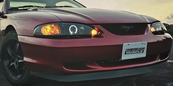 Mustang Head Lights