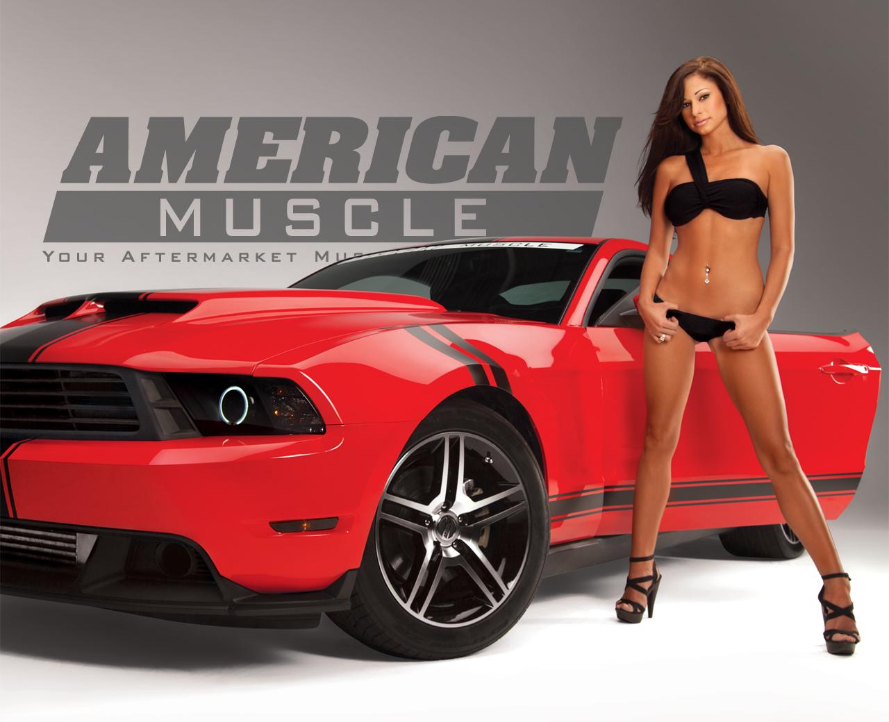 Meet The 2012 Am Calendar Girls Americanmuscle Com