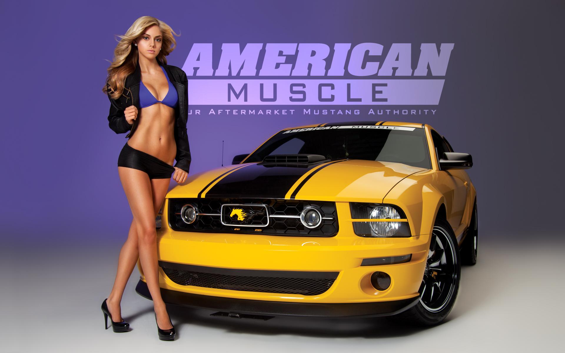 Meet the 2012 AM Calendar Girls | AmericanMuscle.com