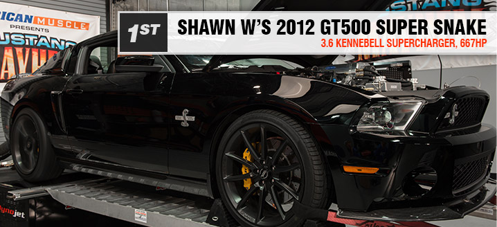 1st Place - Shawn W - 2012 GT500 Super Snake