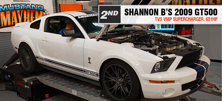 2nd Place - Shannon B - 2009 GT500