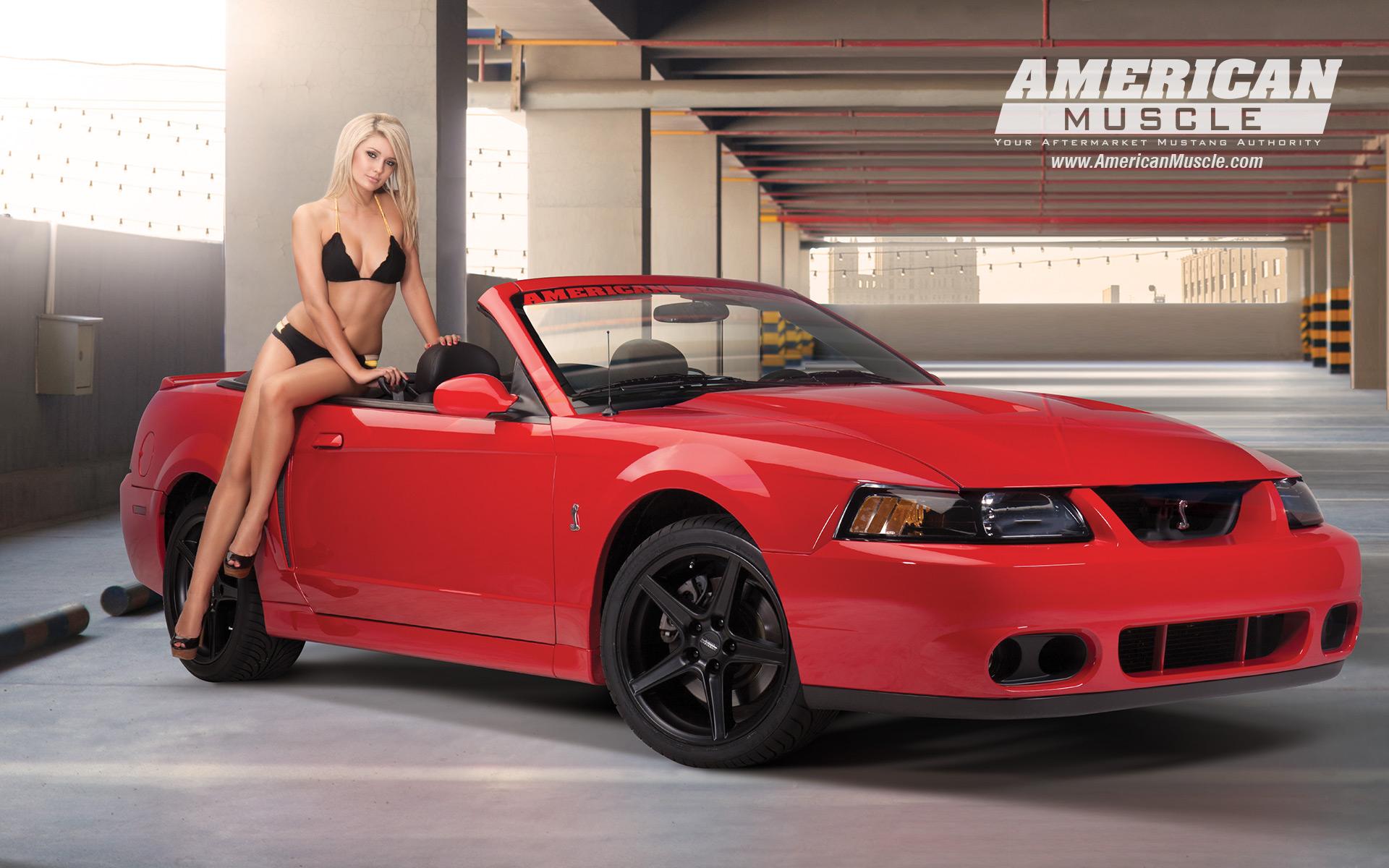 Meet the 2013 AM Calendar Girls | AmericanMuscle.com