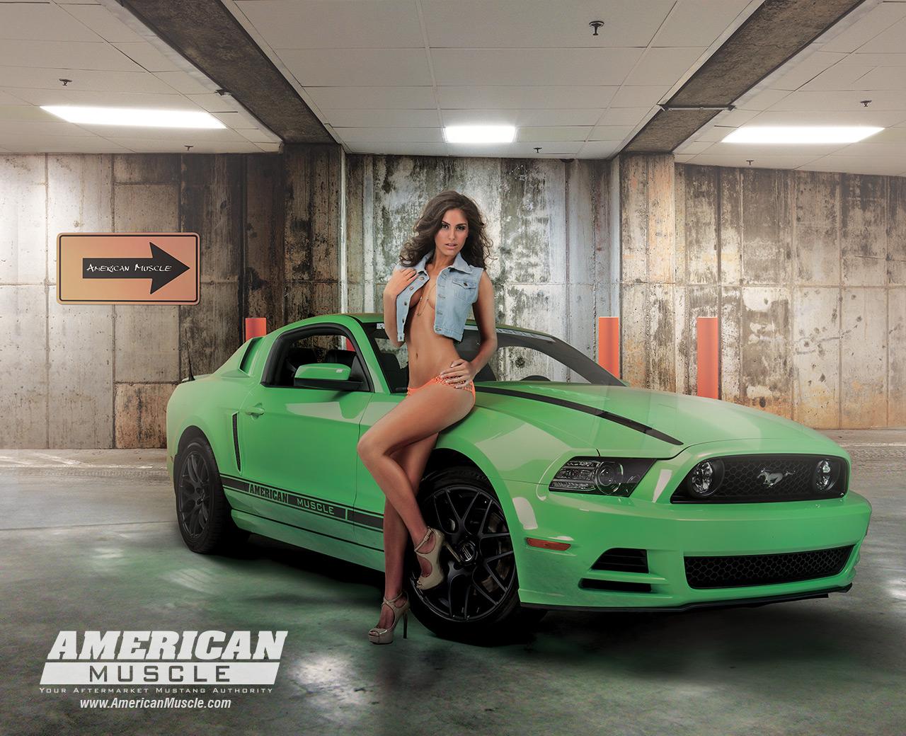 Meet The Am Calendar Girls Americanmuscle Com