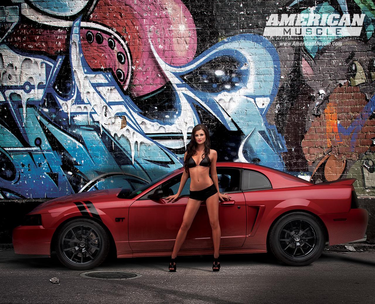 Meet The 2013 Am Calendar Girls Americanmuscle Com