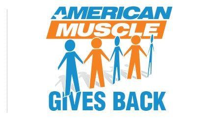 AmericanMuscle Gives Back