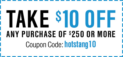 Take $10 off any purchase of $250 or More @ AmericanMuscle.com