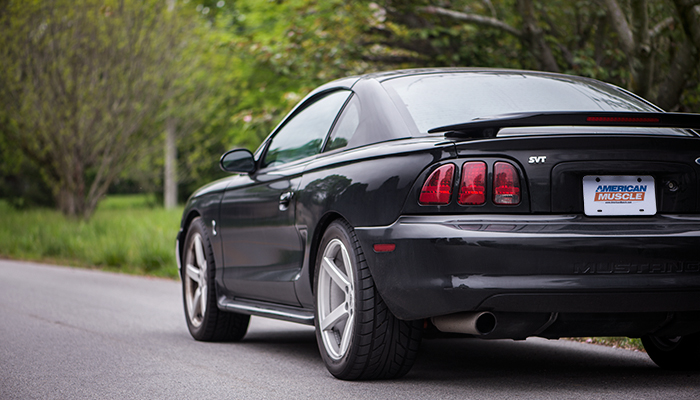 Adam S Black 95 Cobra Mustang