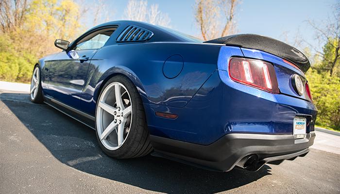 Brandon's Kona Blue '11 Mustang GT