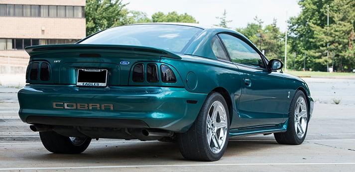 Coal K S 97 Pacific Green Cobra Americanmuscle