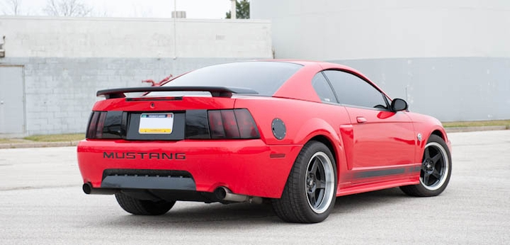 Dan B S Torch Red 03 Mach 1 Mustang Americanmuscle