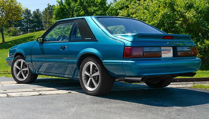 Rachel's Reef Blue '93 Mustang GT
