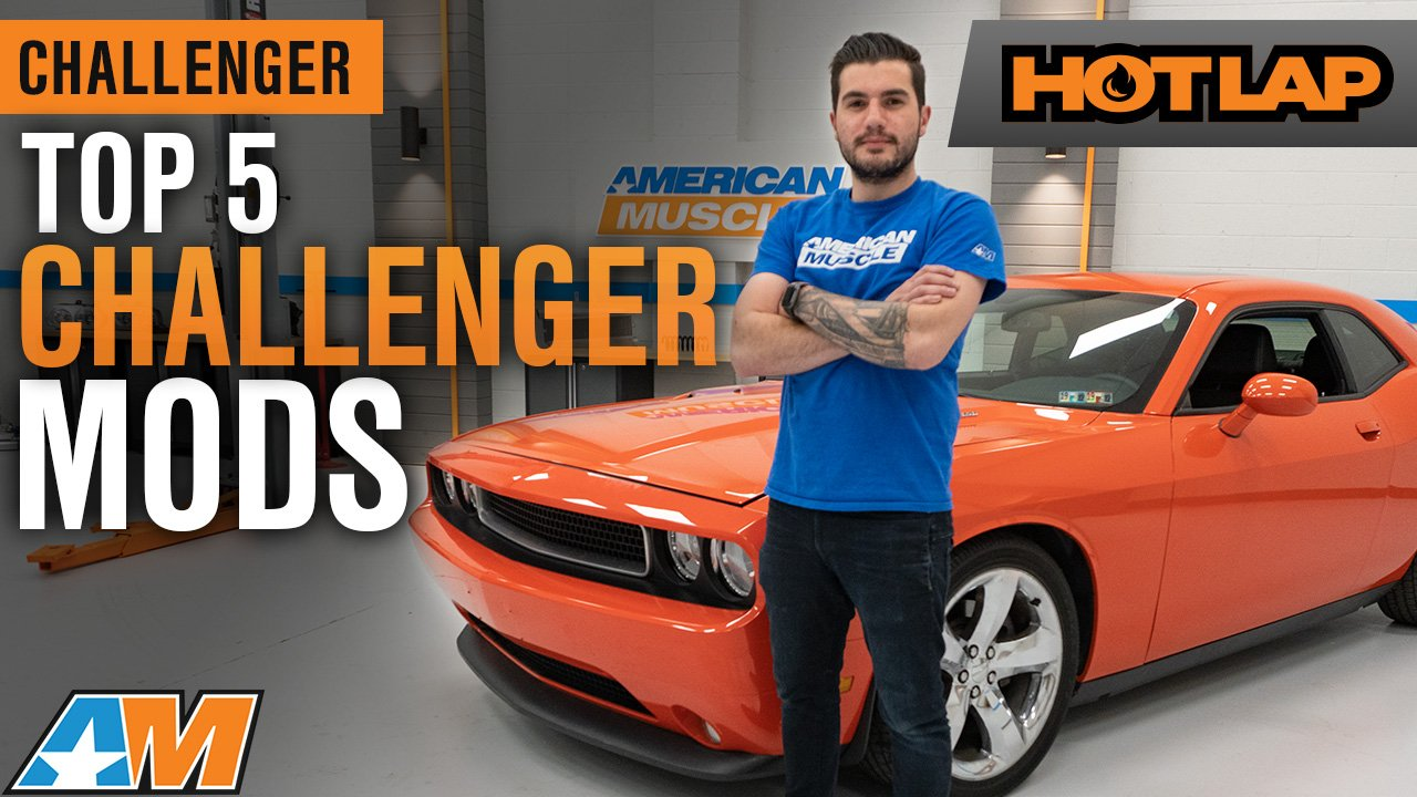 Top 5 Mods For Your 2009 2014 Dodge Challenger – Hot Lap