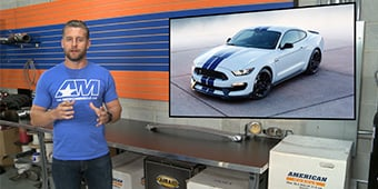 World Reveal of 2018 Shelby GT350!