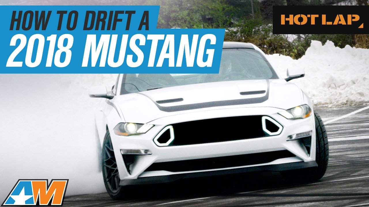 How To Drift A 2018 Mustang