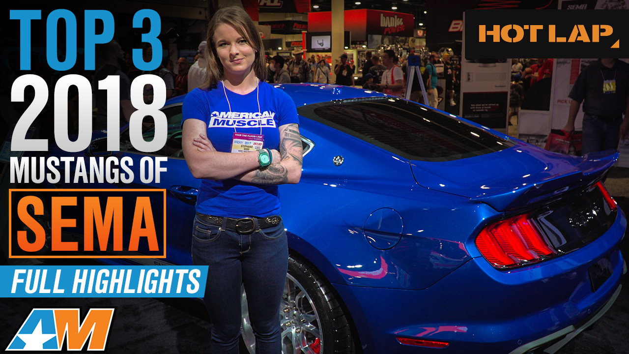 Top 3 2018 Ford Mustangs Of SEMA 2017 & Full Event Coverage