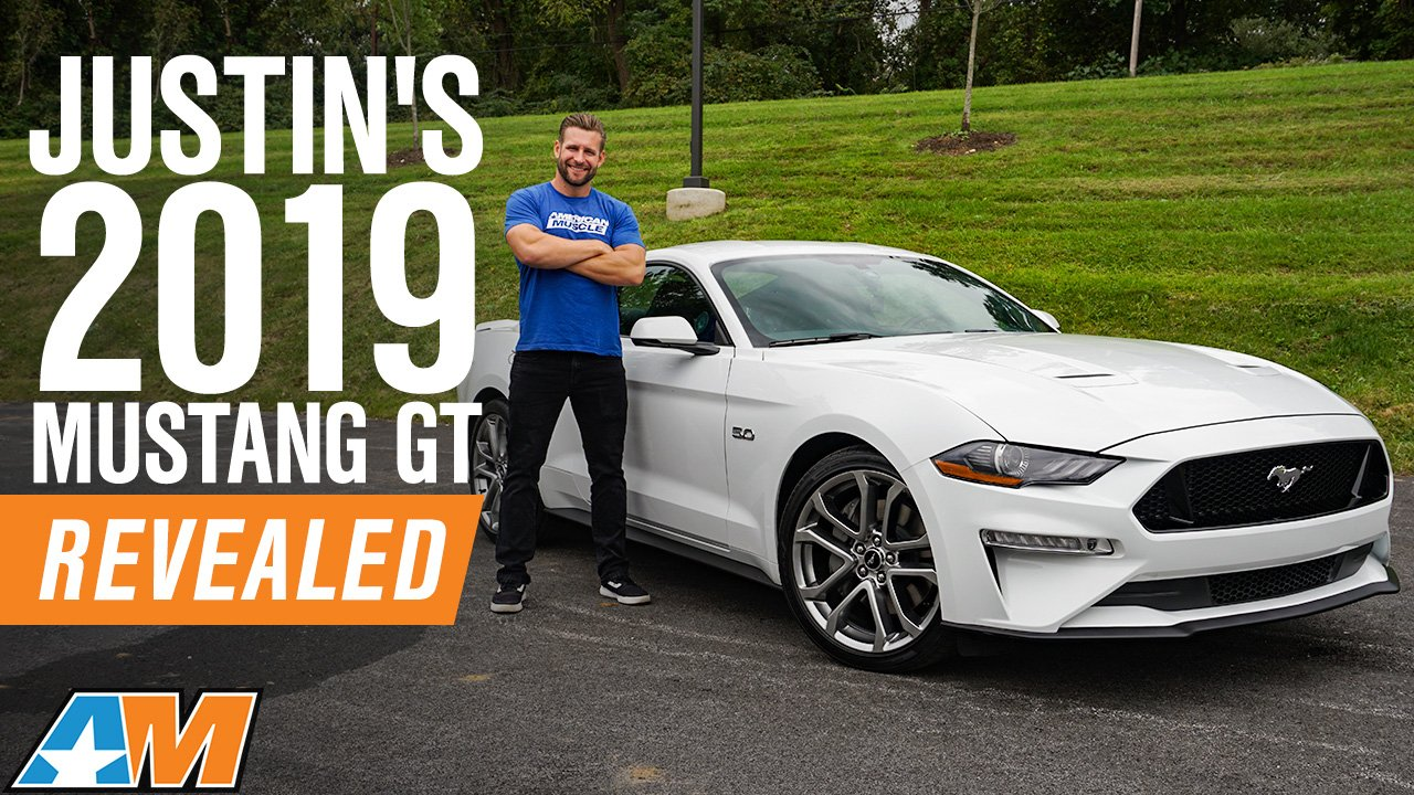 Justin Reveals His 2019 Mustang GT Project Car & Dyno Tested