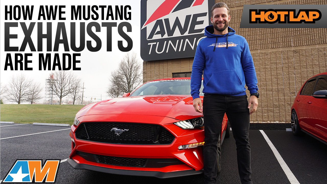 Inside Look At How AWE Builds Mustang Exhausts by Hand In Pennsylvania - Hot Lap