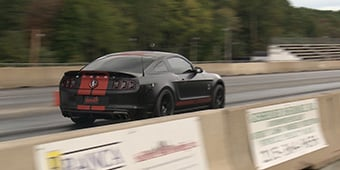 GT500 Goes 10's w/Bama Tune & CAI!