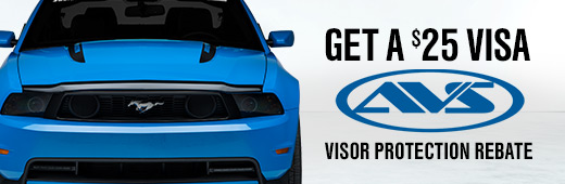 AVS Visor Protection Rebate