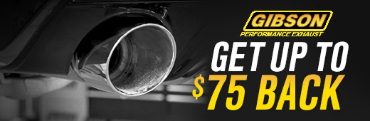 Gibson Exhaust Rebate