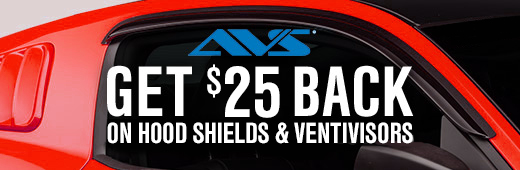 AVS Hood Shield & ventivisor Rebate