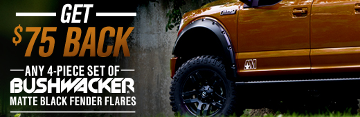 Bushwacker Fender Flare Rebate