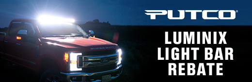 Putco Luminix Light Bar Rebate