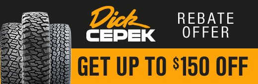 Dick Cepek Rebate